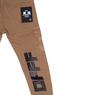 Брюки (92-170)-по бокам карманы с клапанами с вышитой эмблемой, сзади черная надпись светло-коричневый хлопок 3168