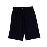 Шорты (6-16)- спортивные, на резинке со шнурком , на карманах замки синий хлопок 4111