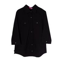 Рубашка (15-23)-на поясе, с двумя карманами, на спинке набор из аксессуаров с длинной лентой чёрный 1 783485