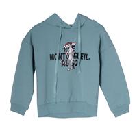 СвитШот (3-11)-принт-розовая пантера темно ментоловый 768240