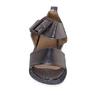 Боссоножки (36-39)-толстая серебристая подошва,широкая серебристая пряжка темноё серебро кожа 3724-52