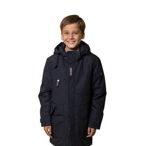 Куртка (140-170)-карман-клапан,2-кармана-уголком, эмблема на рукаве т.синий синтепон 20-1009