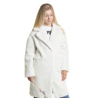 Пальто (S-L)- чебурашка молочный 1836