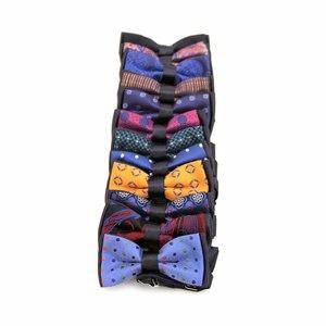 Бабочка двойная-разноцветная разный атлас 1800