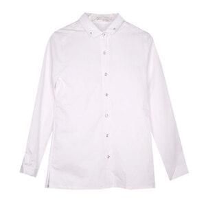 Школьная форма Блузка (134-164)-д/р,кружевная спинка и кружевной 2-ной воротник белый 62072