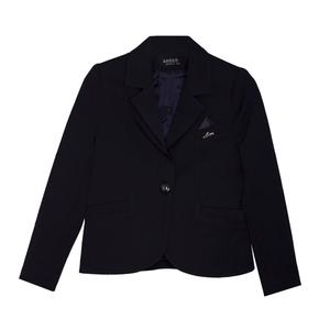 Школьная форма Жакет (5-20)-с синим платочком, на 1 пуговице, 2 кармана синий габардин 30202