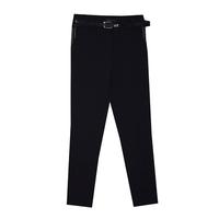 Школьная форма Брюки (7-20)-узкие, сбоку разрезики и цепочки на кармане синий габардин 50342