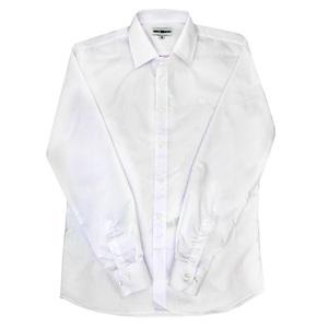 Школьная форма Рубашка (6-16)-д/р,гладкая с эмблемой белый хлопок 2020