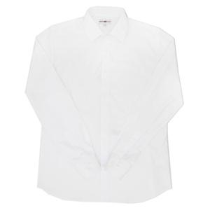 Школьная форма Рубашка (16-18)-д/р, мелкая полоска белый хлопок 987