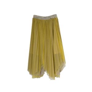 Юбка (15-23)-на золотой резинке,гафре из золотого песка, верх сетка, углами жёлтый 561824